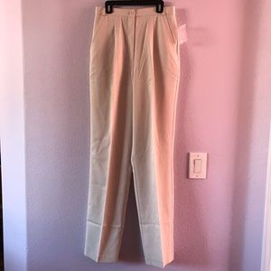 New vintage cream Chadwick's high waisted pants